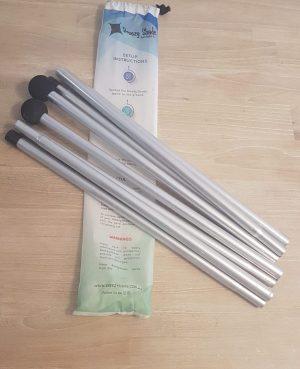 Additional Aluminium Poles set