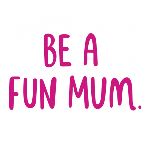 be a fun mum blog logo